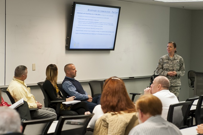 NASIC hosts forum on accommodating disabilities in the workplace