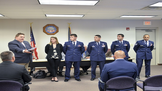 NASIC NCO recognized by local community for heroic effort