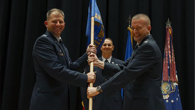 AC receives new commander
